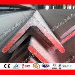 Gebürstete Oberfläche SUS 304 316 316L Ss-Winkelleiste