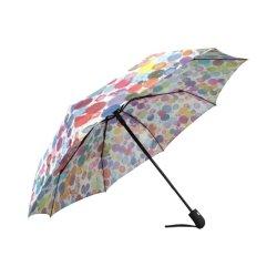 도티 대형 자동 접이식 우산 비 웨더 아트 열기 용이 우산 닫기(&C