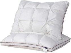 Pan de algodón suave de microfibra de diseño de almohada para Hospital Hotel