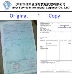 La certificación de documentos de origen, Internacional Marítimo, Transporte de contenedores