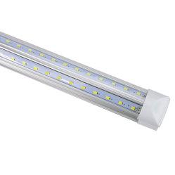 مصباح LED للأنبوب على شكل V T8 220 فولت 110 فولت 570 مم 2 قدم 20 واط، 2000 لومتر، مصباح أنبوب LED مدمج 2835 SMD، إضاءة فائقة ضوء فلورسنت LED