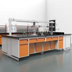 Mobilier de laboratoire Bio durable de l'acier avec Top Boîte à gant, l'usine prix bon marché bio Laboratoire électronique d'acier/