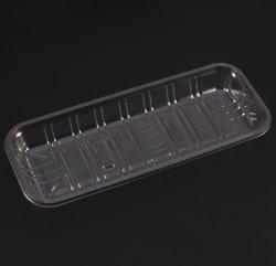 Blister de plástico claro cuadro de Snack insertar foto de la bandeja de envases desechables alimentos Chip
