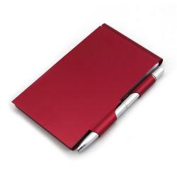 Couvercle en métal personnalisée carton journal avec un crayon pour ordinateur portable pour les cadeaux