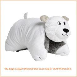 Het reuze Stuk speelgoed van de Pluche van het Kussen van de Ijsbeer Super Zachte