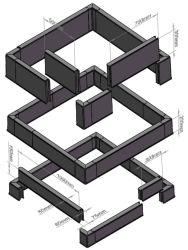 SMC de haute qualité de la pile couvercle de trou d'homme Composite couvercle de trou d'homme carrés empilés et couvercle de trou d'homme d'empilage de PRF de châssis en fibre de verre couvercle de trou d'homme ronde d'accès empilables