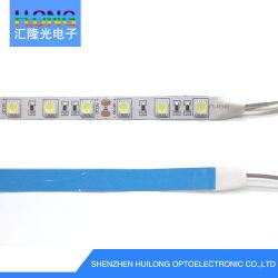 CE & RoHS 14.4W DC12V 1200mA 60LED/ メーター 5050 チップ 5m/ ロール LED ソフト LED ストリップ / ライトバー、広告表示用ステージデコレーションおよびその他 LED 照明プロジェクト。
