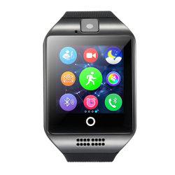 曲げられたスクリーンのBluetoothのスマートな腕時計の電話ビジネスマンのスマートな腕時計