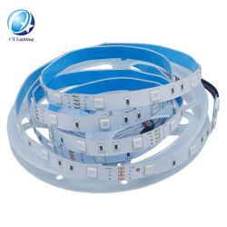 مصباح LED القطاع لـ 60 مصباح LED / مصباح العدادات DC12 فولت ملون شريط LED مرن 5050 RGB