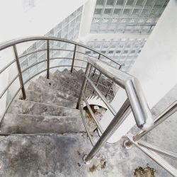 Золото 316 из нержавеющей стали открытый балкон Balustrade пятно профили поручень