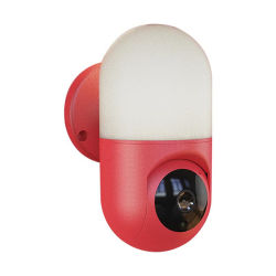 Nuevo 2020, el seguimiento automático de detección de movimiento PTZ Yoosee de visión nocturna de seguridad CCTV Audio 1080P de la lámpara de pared de la cámara IP WiFi