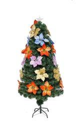 7FT Árbol de Navidad Árbol de fibra óptica Mini iluminado árbol de Navidad para decorar