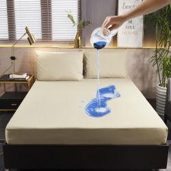 Hotel Balneario Las pastillas de poliéster impermeable protector de colchón Colchas
