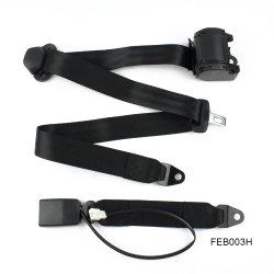 حزام أمان من 3 نقاط في Feb003h مع إبزيم كابل المفتاح السلكي