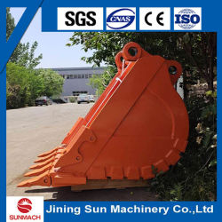 1,2 m3 de capacidad Heavy Duty/HD/Hdr Rock cuchara para ZX240 Excavadoras Hitachi