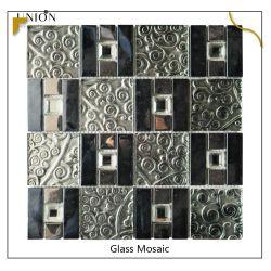 Glossy Stick op wandtegels Glas Mozaïsche tegels backsplash Glas Mozaïekideeën voor badkamer Douche decor
