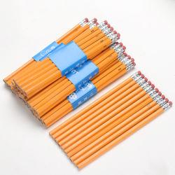 베콜 탑 퀄리티 7인치 육각형 옐로우 컬러 목재 Hb 연필