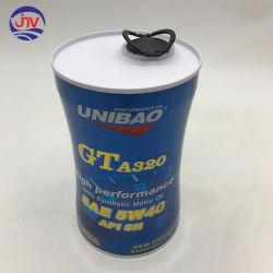Il metallo può coperchio impaccante sintetico della plastica del contenitore di stagno dell'olio di motore