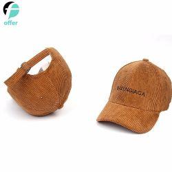 カスタマイズ可能なロゴの縦縞のHip Hopの野球帽