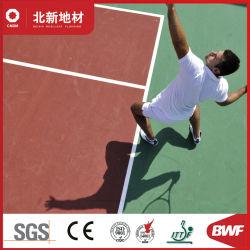 Hoogwaardige vinylvloer voor tennisbanen -6,5 mm Hj25406f