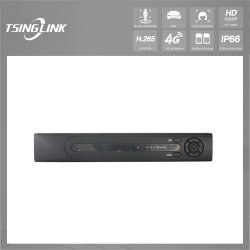 De goedkope H264 Videorecorder van het 1080P4CH DVR Netwerk SATA Hhd voor IP Camera