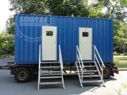 La moda Venta caliente favorable el precio de los contenedores de construcción prefabricados
