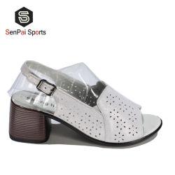 Las mujeres señoras sandalias de cuña de la Plataforma de verano calzado zapatos de tacón grueso