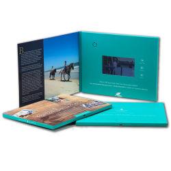 De nieuwe LCD van het Ontwerp Druk van de Kaart van de Uitnodiging van het Huwelijk van de Kaarten van de Groet van het Document van het Scherm