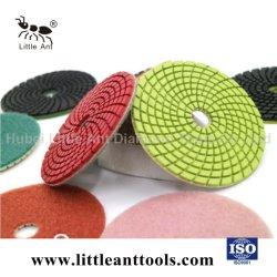 Commerce de gros outils diamant Tampon à polir humide pour moudre le plancher de terrazzo