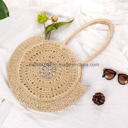 Sac de plage d'été de paille de mode sac fourre-tout sac à main populaires femmes filles Sac en bandoulière