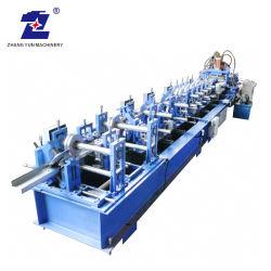 機械を作るか、または形作る自動金属の鋼鉄タイルのCzuセクション支柱によって形づけられる母屋チャネルのプロフィールライト鋼鉄キールの冷たいデッサンか引かれたロールまたは圧延またはローラー