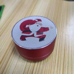 Cadeau de Noël FM sans fil Bluetooth® Portable Mini caisson d'enceinte Pratique Mobile universel mini-enceinte portable Bluetooth sans fil haut-parleur de métal