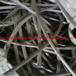 Limpiar el reciclaje de chatarra de cable de aluminio para la venta 1