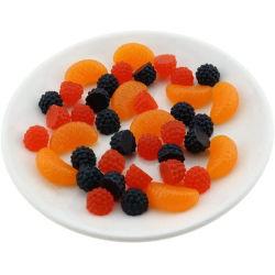 60ПК Premium моделирование поддельные малины срез искусственные фрукты оформление фото реквизит
