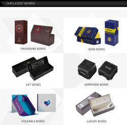 Un carton rigide papier pliable un emballage cadeau Boîte de luxe avec ruban/fermeture magnétique/tiroir/couvercle pour le stockage/Bijoux/parfums/Candle vin//thé/caisson de nettoyage/Rose/chocolat