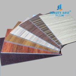 Panneau composite aluminium ignifuge pour la décoration de revêtement de mur extérieur