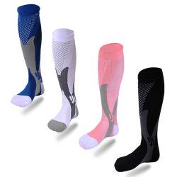 Meias de compressão de Nylon meias de Enfermagem Médico Especializado Piscina Andar Fast-Drying Adulto respirável meias de desporto