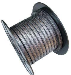 La grafite ha intrecciato l'imballaggio di rinforzo con fibra di vetro per la pompa scambiantesi