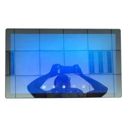 21,5-дюймовый ЖК-дисплей датчика тела Волшебное зеркало Digital Signage реклама дисплей с программного обеспечения CMS для Retails