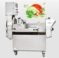 La industria de la máquina de corte de verduras patatas/automático de corte para cortar en rodajas de pepino cebolla zanahoria picar Dicing multifunción Double-Ended Máquina Cuttin vegetal