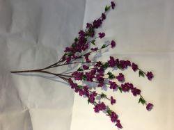 Artificial Cherry Plum Peach Blossom Arborescence de la Direction générale de pulvérisation de fleurs en soie
