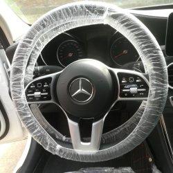 El volante desechables cubre coche Especial cubrir el uso de desechables alquiler de coche mecánico Protector de la tapa