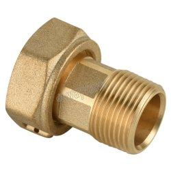 맞춤형 Dzr Cw602n 황동 물 측정기 커넥터(개스킷 포함)