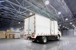 Vrachtwagen van de Macht van de batterij de Nieuwe Energy Truck Van Electri Truck 4495kgs Logistische