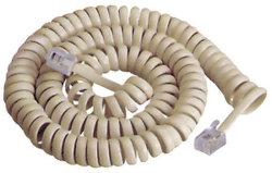 Espiral de telefone / cabo enrolado Telefone Extensão 4p4c