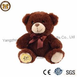La main fait de la Chine ours en peluche personnalisée en usine jouet en peluche