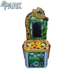 Coin Pusher hermosa Jirafa Redención Juego de Arcade de atracciones de la Moneda de la máquina máquina de juego para la venta