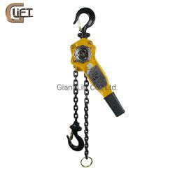 كتلة ذراع الرفع اليدوي للرافعة المرفاع سلسلة الرفع اليدوية 0.75t/1T/2t/3T/6t/9t مع تعليق معتمد من CE (HSHZ)