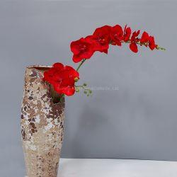 Fabrik-preiswerte Silk künstliche Orchidee-Großhandelsblume für Hochzeits-Dekoration