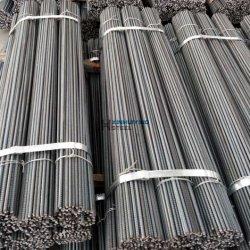 処理された鋼鉄によって変形させる補強棒